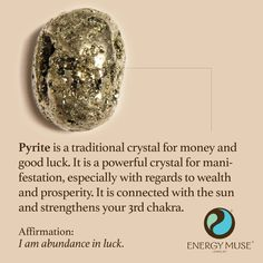http://www.energymuse.com/pyrite-stone.html